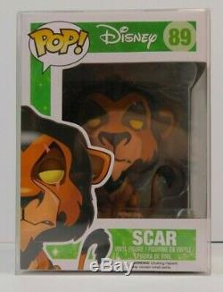 Funko Pop Disney Lion King Scar #89 Action Figure Rare