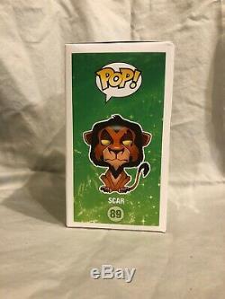 Funko Pop Disney Scar # 89 The Lion King Series 6