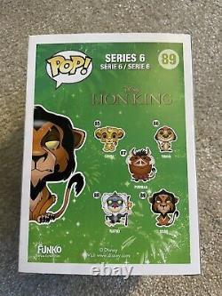 Funko Pop! Disney Scar The Lion King #89 Vinyl Figure RARE VAULTED GRAIL