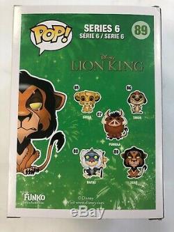 Funko Pop Scar 89 Disney Lion King
