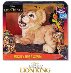 FurReal Disney The Lion King Mighty Roar Simba Animated Plush Toy 4+ Years NEW