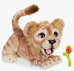 FurReal Disney The Lion King Mighty Roar Simba Animated Plush Toy new