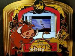 GRAIL SCENE PODM Piece of Disney Movies Movie Lion King Rafiki Holding Simba Pin