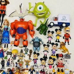 Huge Lot of 200+ Disney & Pixar Figures Frozen Princess Lion King Snow White