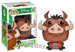 IL Re Leone The Lion King Pumbaa Pumba Pop Funko Figure Disney Simba Timon #1