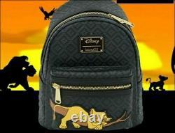IN HAND Rare Loungefly Sleeping Simba Lion King Disney Mini Backpack LE 600