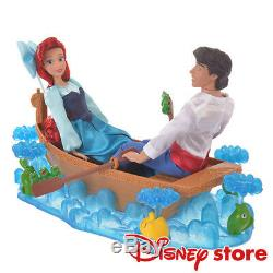 Japan EMS Disney Little Mermaid Deluxe Playset Kiss the Girl Ariel and Eric Doll