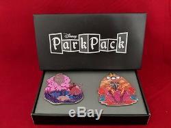 Jumbo LE 500 Lion King Simba Nala Mufasa Scar Disney Store Park Pack 2 Pin Set