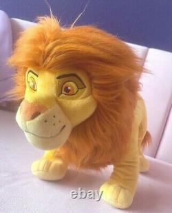 König der Löwen Simba Disney Store Japan Plüschtier Lion King Plush Rare 2019