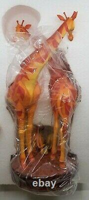 LIMITED Disney Legacy Collection Lion King 25th Anniversary Giraffes Statue