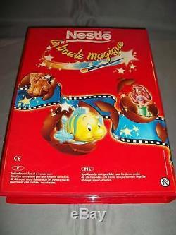 LION KING Little Mermaid TOY STORY Disney NESTLE MAGIC PROMO Display 21 Figures