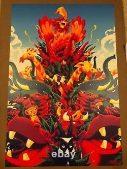 LION KING RARE art print Variant Poster 2017 (x/200) Matt Taylor DISNEY D23