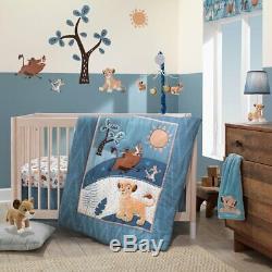 Lambs & Ivy Disney Lion King Adventure Baby Nursery Crib Bedding 3 4 5 6 PC Set