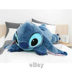 Limited Edition Disney Stitch Lying 47in Plush Toy Stuffed Doll + Expedited Ship