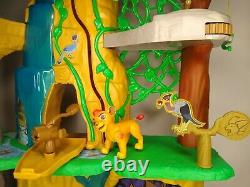 Lion Guard Disney Defend The Pride Lands And Training Lair Playsets Kion