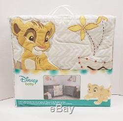 Lion King Circle of Life 9 Pc (withLamp) Nursery Crib Bedding Set by Disney Baby