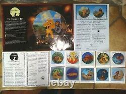 Lion King, Complete Set Of 12 L. E. Disney Bradford Bradex Plates 1994, New, Mint