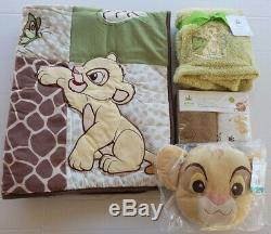 Lion King Jungle Wild About You Baby Crib Bedding 5 Pc. By Disney Baby