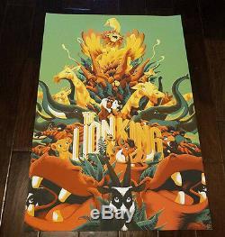 Lion King Print (Variant) by Matt Taylor Disney Never Grow Up Mondo 2017
