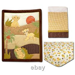 Lion King Simba's Wild Adventure 15 Piece Crib Bedding Set by Disney Baby