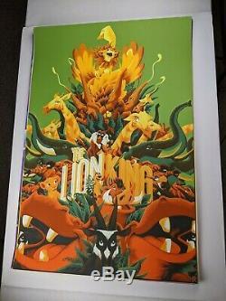 Lion King Variant Matt Taylor Mondo Poster Print Art Disney Pixar Cyclops