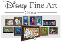 Lion King Villainous Brother Scar Tom Matousek LE500 Framed Silver Series Disney