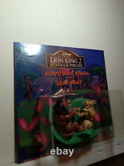 Lion king fan made hand painted figure kovu and kiara