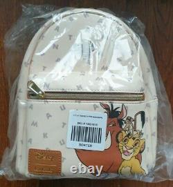 Lot of 8 Disney Mini Backpacks by Loungefly (Toy Story, Dumbo, Lion King, Moana)