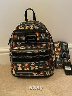 Loungefly Disney Lion King Mini Backpack And Wallet