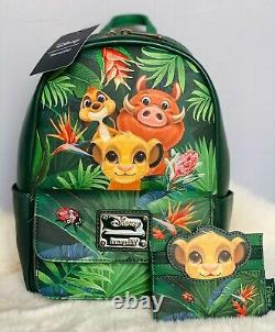 Loungefly Disney The Lion King Trio Mini Backpack