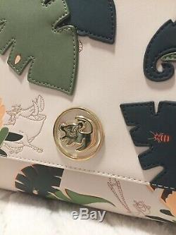 Loungefly Disneys Lion King Simba Tropical Leaf Crossbody Hand Bag Purse NWT
