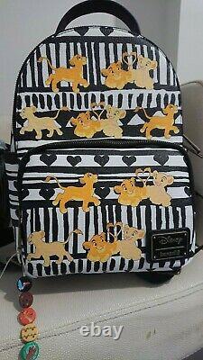 Loungefly Nala and Simba Backpack. The Lion King