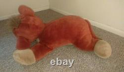 Lovely Disney Store KOVU, Jumbo 26 stuffed Plush, Lion King II Simba's Pride