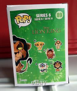 MIB Disney Scar Lion King Funko POP #89 Vinyl Figure