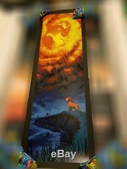 Mark Englert LION KING Poster Print Mondo Disney Art Tom Whalen RARE SOLD OUT AP