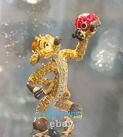NEW DISNEY Parks Jeweled TIMON LION KING by Arribas Swarovski Crystals Figure