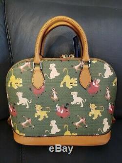 NEW Dooney & Bourke Disney Lion King Stachel Purse Bag Simba Centered