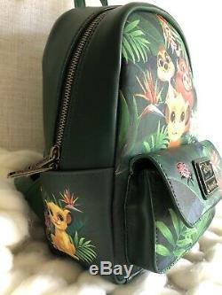 NEW WITH TAGS! Loungefly Disney Lion King Tropical Mini Backpack