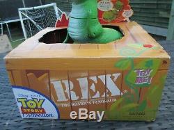 NIB TALKING ThinkWay Disney Toy Story Collection REX ROARR'N DINOSAUR Figure