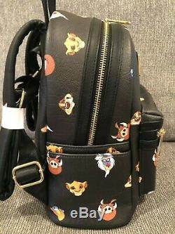 NWOT Disney Parks Loungefly Lion King backpack Simba Hard to Find