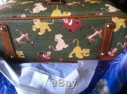 NWT Disney Parks DOONEY & BOURKE The Lion King TOTE BAG IN HAND SALE
