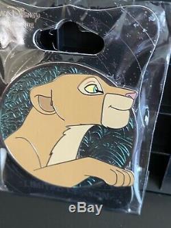 Nala The Lion King Simba Disney Heroines WDI MOG Profile Pin LE 250