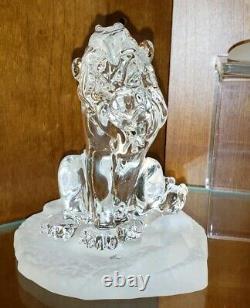 New Disney Parks Arribas Bros SCAR Blown Glass Figure Figurine The Lion King