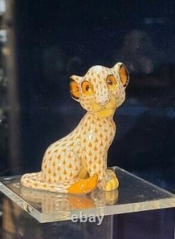 New Disney Parks Arribas HEREND LE SIMBA Lion King Figure Figurine