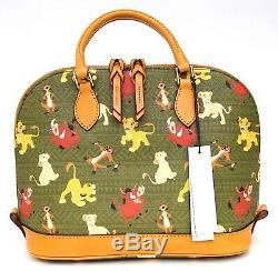 New Disney Parks Dooney & Bourke The Lion King Simba Timon Pumba Satchel Bag