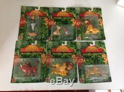 Panini Disney Lion King Figures x13 Factory Sealed 1993 RARE