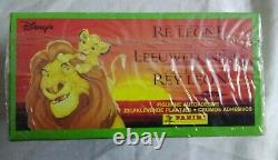 Panini WHOLESALE DISNEY (LION KING) 1994 6 x Sealed Boxes each 100 Packets RARE