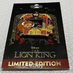 Piece of Disney Movies Pin The Lion King Simba & Scar Film Rare LE 2000 PODM