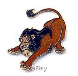 RARE Disney Pin 64161 DS The Lion King Villain Scar LE 500 Gold Finish