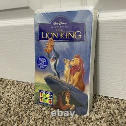 RARE GEM Walt Disney The Lion King VHS MASTERPIECE Edition Classic Sealed OFFERS